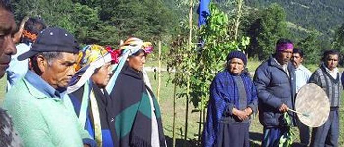 fotografía rewel y autoridades tradicionales del 2011