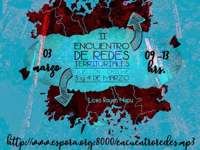 Chillwe Mapu: Transmisión conjunta del II Encuentro de Redes Territoriales en Quellón