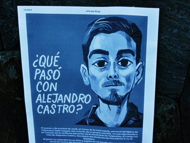 Panguipulli: Realizan trawun informativo y velatón por Alejandro Castro