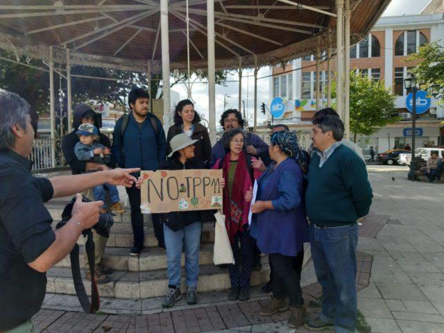 Valdivia: Comunidades mapuche y organizaciones sociales y ambientales exigen a diputados de Los Ríos no ratificar convenio TPP11