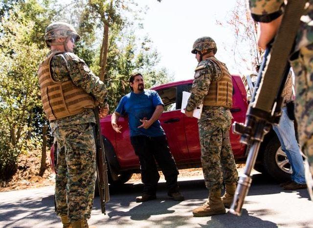 Ampliación Estado de Excepción: Mantienen a militares en las calles y los campos del sur ante exigencias de las forestales y latifundistas