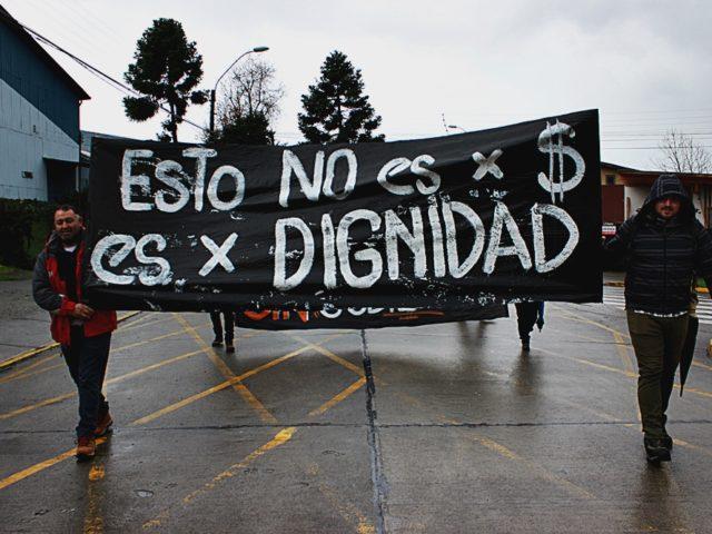 Panguipulli: Marcha por la defensa de la Educación Pública
