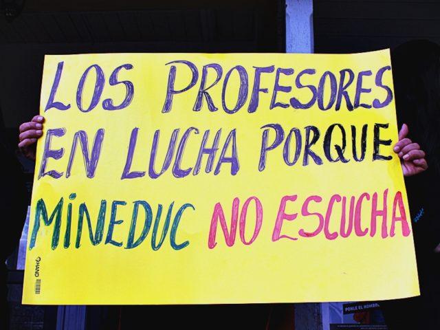 Panguipulli: Docentes visitan consejo municipal y anuncian una  agenda de movilizaciones
