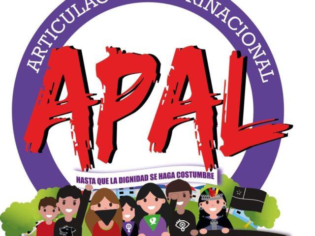 APAL: No a la represión de los pueblos, Fin de la militarización del Wallmapu