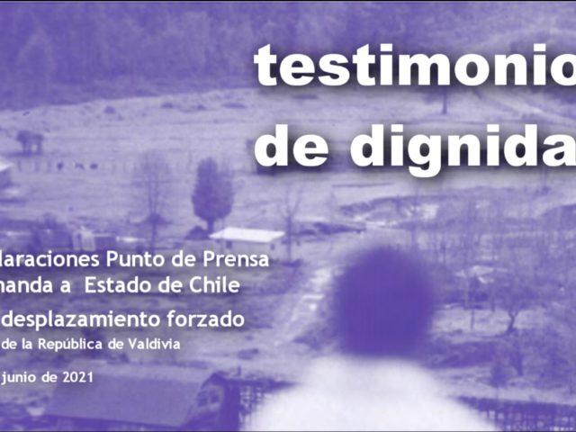 """Testimonios de Dignidad 1/ Aldamira Godoy: """"Nuestros padres murieron con la tristeza de no volver al lugar donde nacieron"""""""