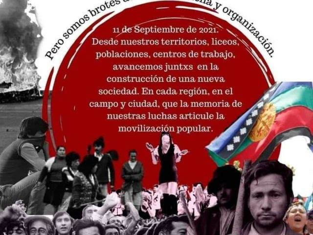 Comunicado RPS 11S: Quisieron arrebatarnos la primavera, pero somos brotes de rebeldía, lucha y organización.